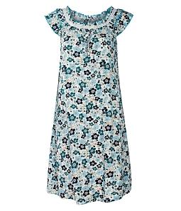Đầm mặc nhà T21 thời trang - Trắng