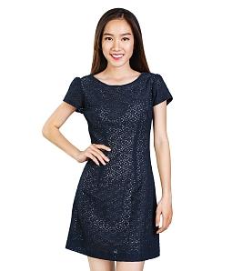 Đầm ren Blue Season thời trang