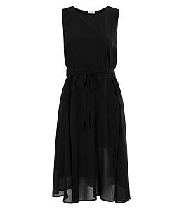 Đầm voan xẻ tà thời trang