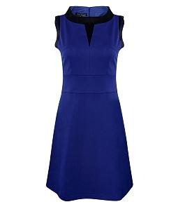 Đầm xoè Blue Season phối màu trẻ trung