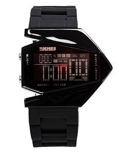 Đồng hồ Led Phi Thuyền - Đen