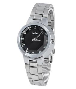 Đồng hồ nữ JULIUS Hàn Quốc JU1206 (Trắng mặt đen)
