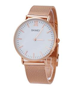 Đồng hồ SKMEI nữ dây nhuyễn SK114 (Đồng)