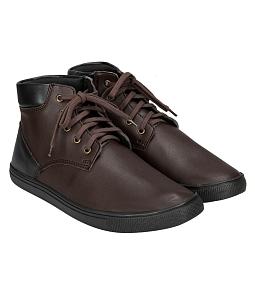 Giày Boot nam cao cổ phối màu cá tính