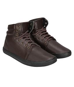 Giày boot nam cao cổ sành điệu - Nâu