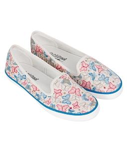 Giày búp bê nữ QuickFree B160101-001/002 Butterfly - Xanh