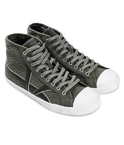 Giày cao cổ nam phối da AQUA M130 - Xanh rêu