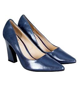 Giày cao gót 9 phân kim tuyến 827 Sarisiu - Xanh