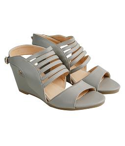 Giày cao gót đan quai chéo 7 phân M515 - Xám