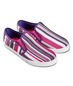 Giày lười nữ vải gân W127 SUTUMI