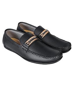 Giày mọi nam da thật SunPolo 3010