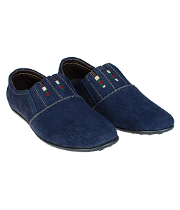Giày mọi nam Gia Vi thời trang S117 - Xanh đen