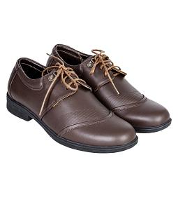 Giày nam đế cao Gia Vi K527 - Nâu