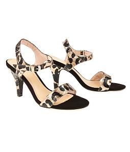 Giày sandal gót nhọn da beo SULILY SG1-I17