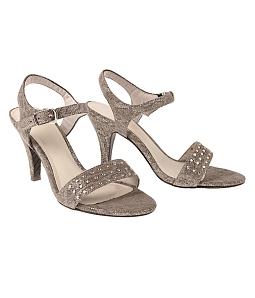 Giày sandal gót nhọn đính phụ kiện SULILY SG1-I17 - Đồng