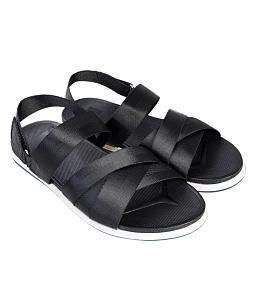 Giày sandal nam đan chéo cá tính - Đen
