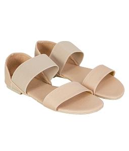 Giày sandal nữ bản ngang thời trang