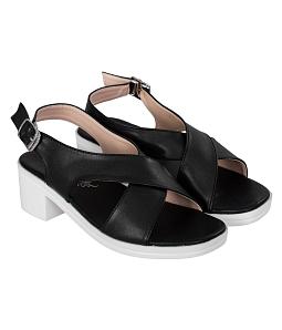 Giày sandal nữ đế vuông thời trang