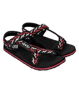 Giày Sandal nữ DVS cá tính WF047 - Đỏ