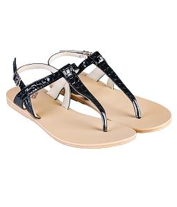 Giày Sandal nữ DVS xỏ ngón WS305 - Đen