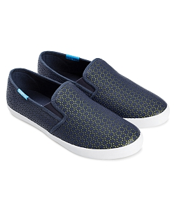 Giày slip on nữ Lightly Syn QUICKFREE F41 - Xanh
