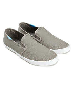 Giày slip on nữ Lightly Syn QUICKFREE G49 - Xám