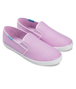 Giày slip on nữ QUICKFREE Lightly Syn 201 - Tím