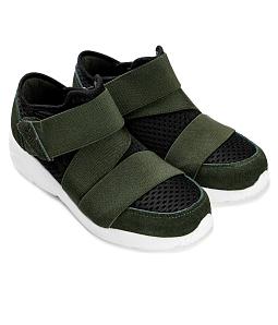 Giày sneaker nữ phối dây thun ôm chân SUTUMI SUW004