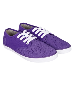 Giày Sneakers nữ QuickFree Pan Leather Perforation W160201