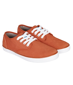 Giày Sneakers nữ QuickFree Pan Leather W160203 - Cam