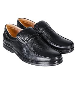 Giày tây nam da thật SunPolo 3020 - Đen