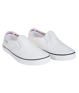 Giày Tuvi's Unisex xỏ White - Trắng