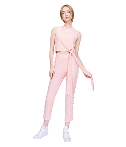 Quần Botton Up Pants Can De Blanc T061 - Hồng