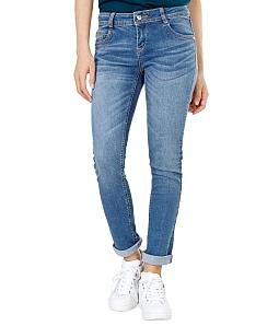 Quần Jean dài nữ ECO cá tính 041M2 - Xanh