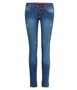 Quần Jean dài nữ ECO cá tính dễ thương JNUD014M1 - Xanh