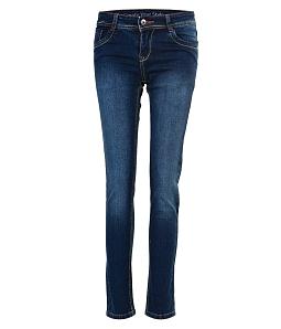 Quần Jean dài nữ ECO đơn giản 042M1 - Xanh
