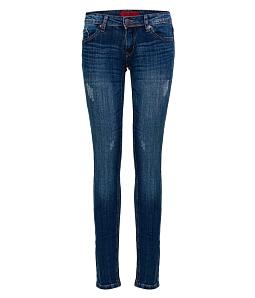 Quần Jean dài nữ ECO thời trang JNUD004-2-M2 - Xanh