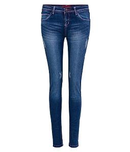 Quần Jean dài nữ ECO thời trang JNUD010AM1 - Xanh