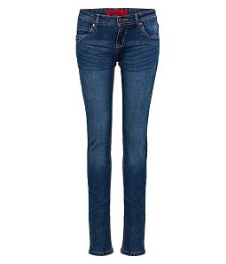 Quần Jean dài nữ ECO túi mặt trăng JNUD005M2 - Xanh