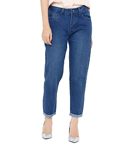 Quần jean nữ big size AAA JEANS XD32 - Xanh