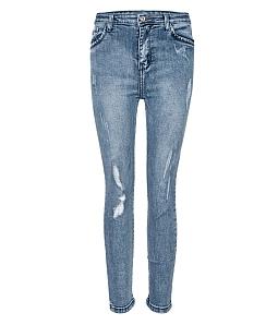 Quần jean nữ phong cách 126 năng động - Xanh