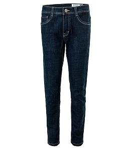 Quần jeans nam trơn KUMAS 89073 HXD1 - Xanh
