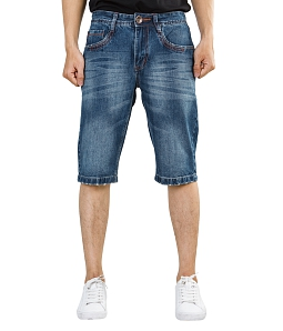 Quần short Jean nam ECO clacssic wash JM007M1