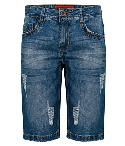 Quần short Jean nam ECO fashion JM009M1 - Xanh