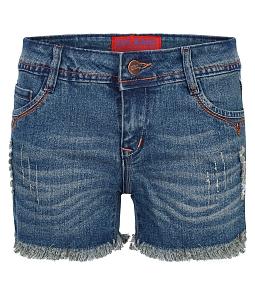 Quần short jeans nữ ECO JEAN J-016-M1 - Xanh