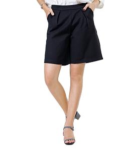 Quần short nữ công sở SKYVER J-06 - Đen