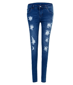 Quần skinny jeans rách nữ AAA JEANS XB