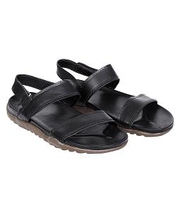 Sandal nam da bò Black Dousland - Đen