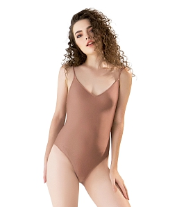 Swimsuit Strings Cross Back CAN DE BLANC H17F8009 - Nude