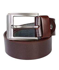 Thắt lưng da bò W2501 thời trang - Nâu